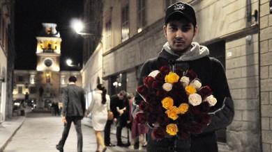 Una rosa per Singh, la fotostoria