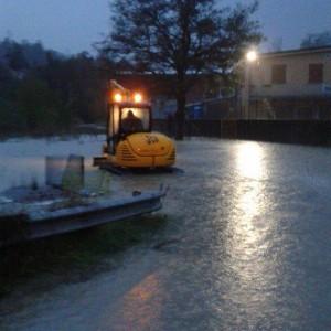 Valtaro in piena emergenza Esonda torrente gallerie allagate