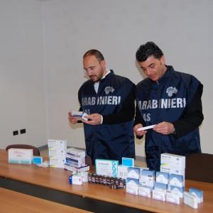 Operazione del Nas contro il traffico di anabolizzanti