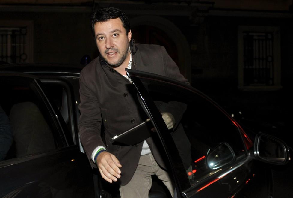 La visita di Salvini (Lega) all'Unione Industriali