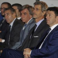 Renzi visita la Barilla