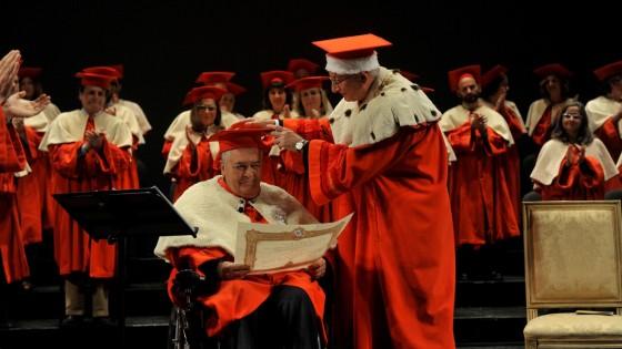Parma, un Bertolucci commosso riceve la laurea honoris causa