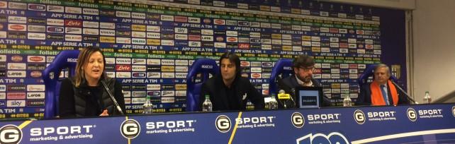 """Giordano:""""Obiettivo restare in A""""     - Foto          Ghirardi: trattativa chiusa con solido acquirente         Tanti dubbi, tifosi attaccano: siete dei buffoni"""