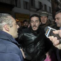 L'aggressione al presidente Manenti