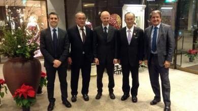 Missione in Giappone, lettera di richiamo del Governo     Dall'Olio: tour illegittimo, ora Corte Conti