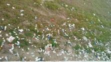 Greto cestino dei rifiuti