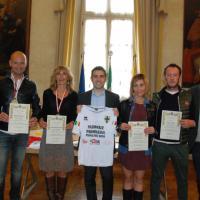 """100 km del Sahara"": premiati i 5 atleti parmigiani"