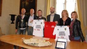 Premiati in Comune i 5 atleti  parmigiani