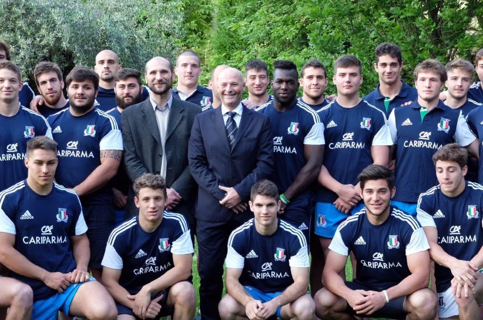 Rugby, la nazionale Under 20 in città