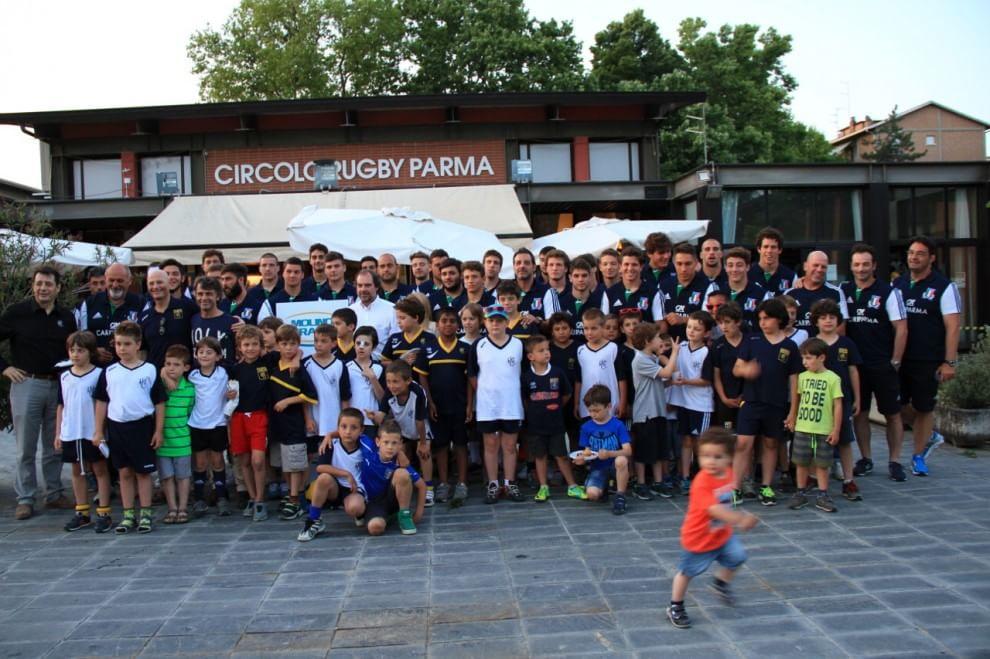 Gran festa della Rugby Parma