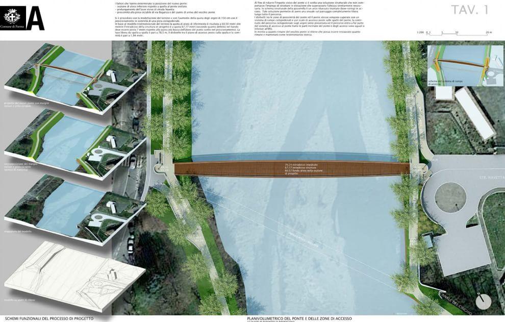 Ponte Navetta, ecco il progetto vincitore