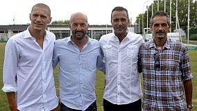 """Ecco lo staff del settore giovanile    Il video con Scala: """"Noi siamo Parma"""""""