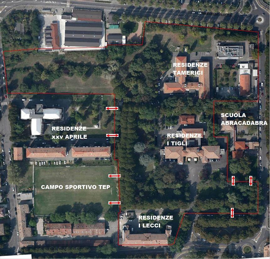 Parco di Villa Parma, il progetto