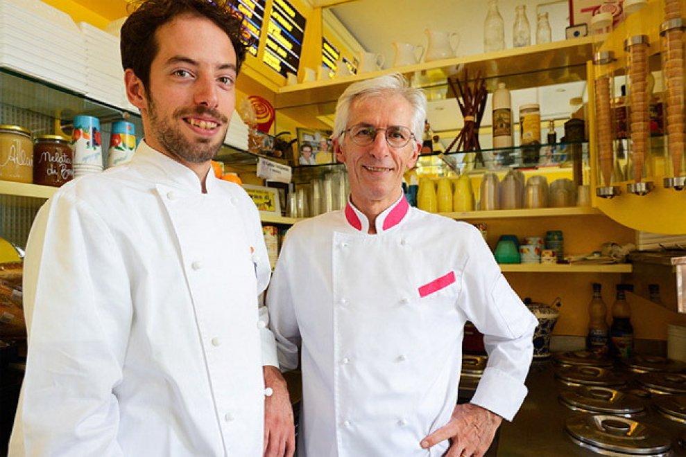 Ciacco e Sanelli nel top delle gelaterie