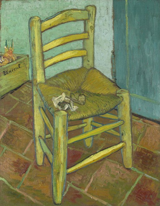 La sedia di Van Gogh alla Magnani Rocca