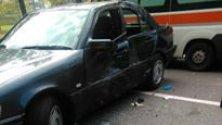Incidente in via Sidoli Scooterista in Rianimazione