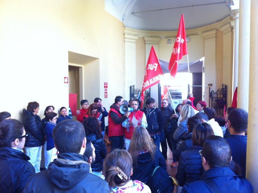 Fondazione Don Gnocchi, il presidio dei lavoratori - la ...