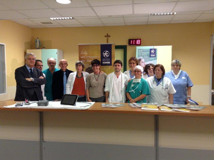 Donazione della Lega Fibrosi Cistica all'ospedale di Parma