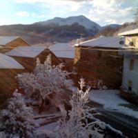 Neve in Appennino: fulmine isola la val Cieca