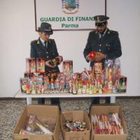 Capodanno, maxi sequestro a Parma di