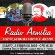 """Radio Aemilia, spettacolo contro le mafie in regione """"E la classe dirigente tace"""""""