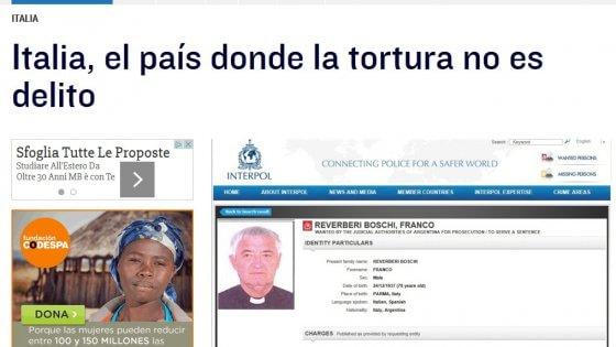 """""""El Mundo"""" attacca don Reverberi di Sorbolo, accusato di torture in Argentina"""