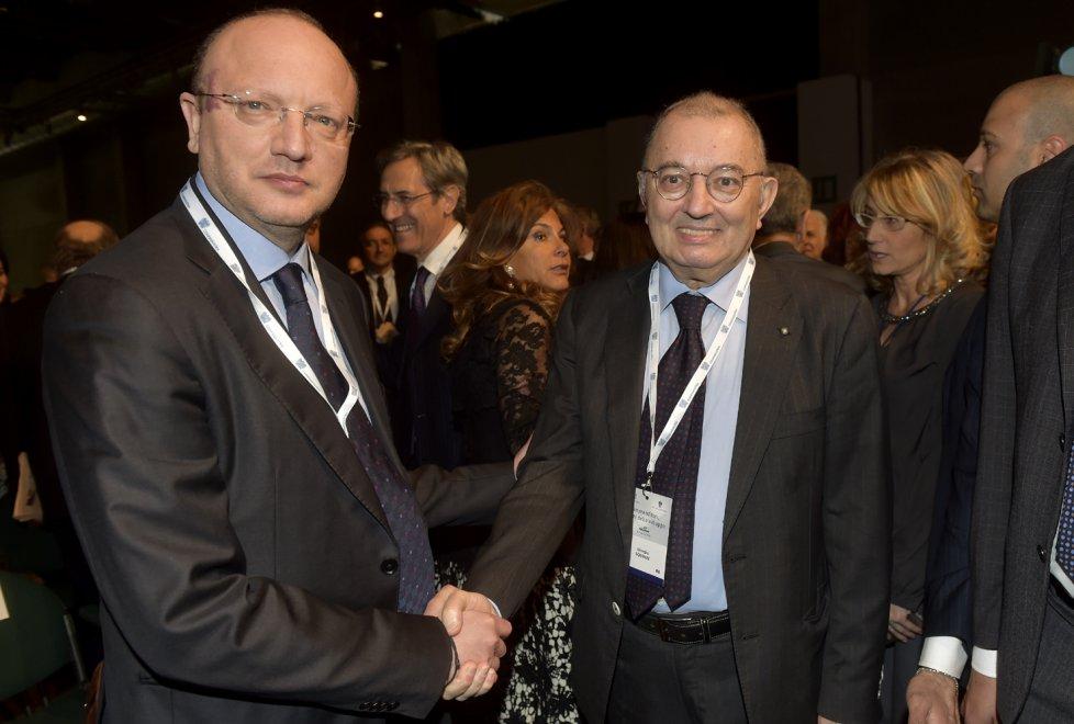 Confindustria, a Parma il passaggio di testimone Squinzi-Boccia