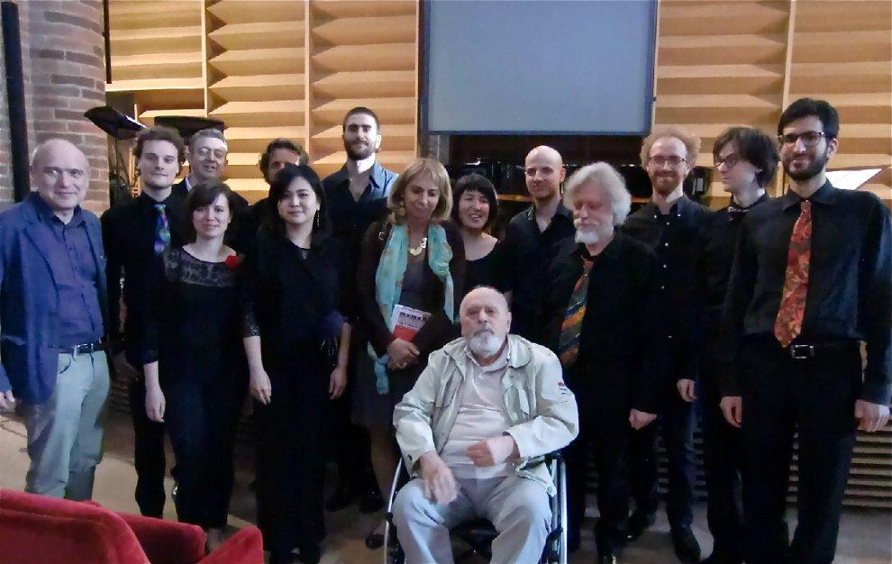Parma omaggio a Sylvano Bussotti