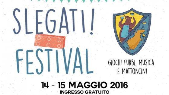 """A Parma arriva il festival """"Slegati"""": giochi di società e mattoncini Lego"""