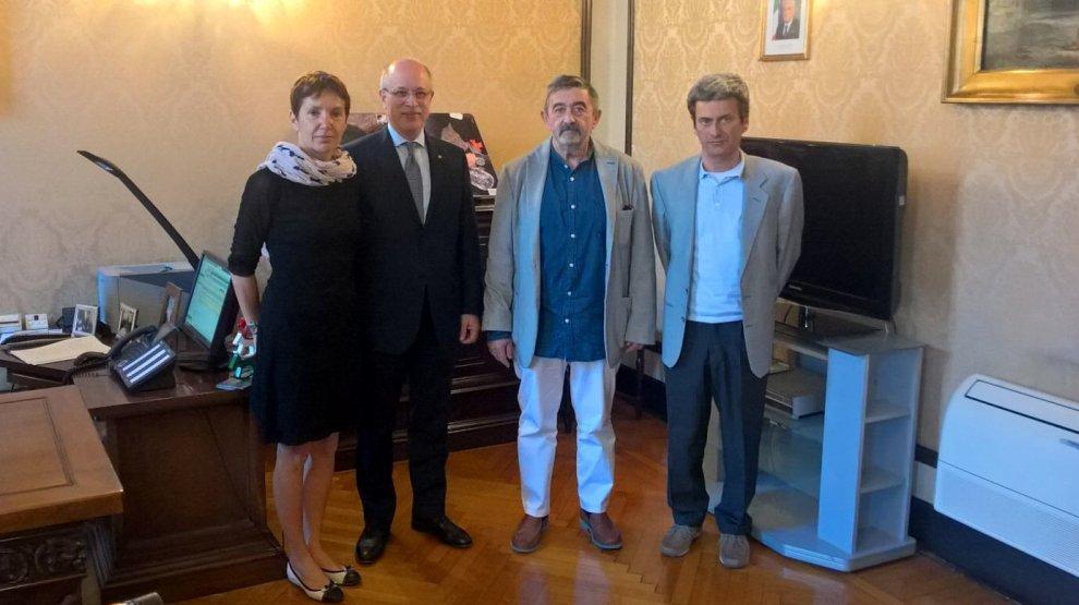 Parma, coop Sirio ricevuta in Prefettura
