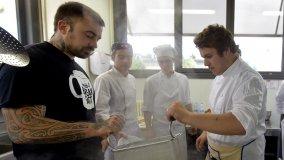 La prima lezione di chef Rubio