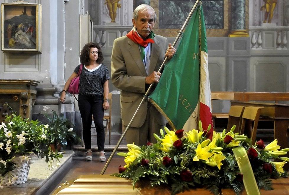 Addio a Luigi Rastelli, partigiano Annibale.Le foto
