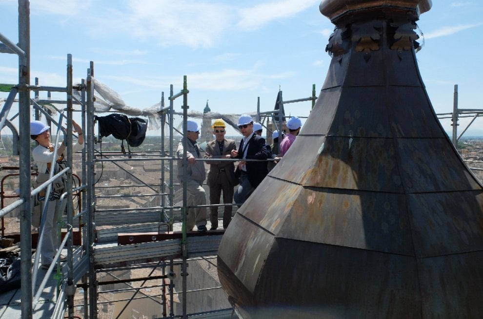 Parma, San Paolo: torre restaurata: sarà aperta entro luglio