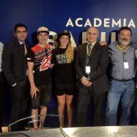 """Parma: il convegno """"Dalla pista alla strada"""", con Vinales, Guareschi e Kiara Fontanesi"""