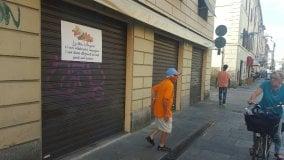 Negozi altre chiusure in via Bixio