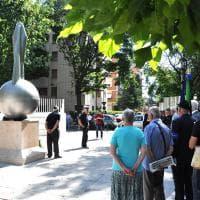 Parma ai suoi aviatori, nuovo monumento in piazzale Maestri