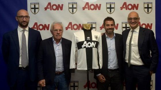 Al Parma Calcio 1913 arriva Aon, il brand già sulle maglie del Manchester United