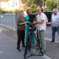 All'Ospedale di Parma si gira il film su Lucia Annibali
