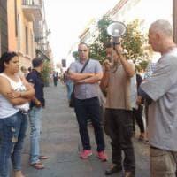 Parma, presidio per dire no allo sgombero della casa occupata in via Zarotto