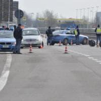 Tangenziale nord a Parma, nuovo posto di blocco: traffico bloccato