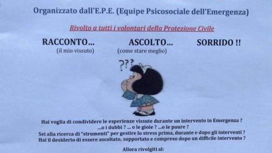 Sisma, al lavoro a Parma l'Equipe psicosociale per le emergenze