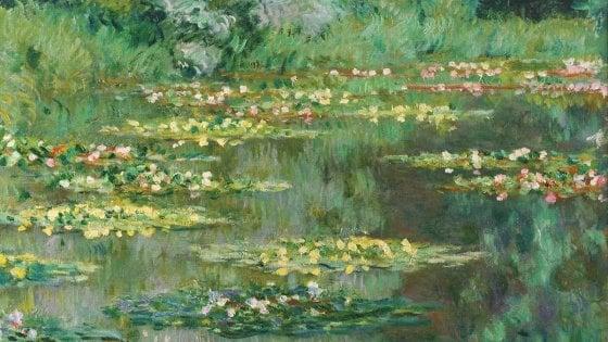 Le ninfee di Monet alla Magnani Rocca di Parma