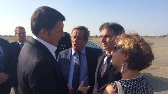"""Renzi: """"Parma merita un'amministrazione nuova e migliore"""""""