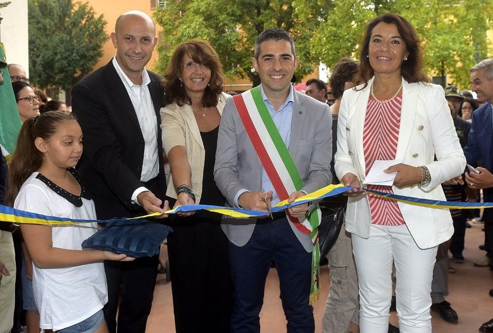 Parma, il giorno dell'inaugurazione della nuova scuola Racagni - Foto