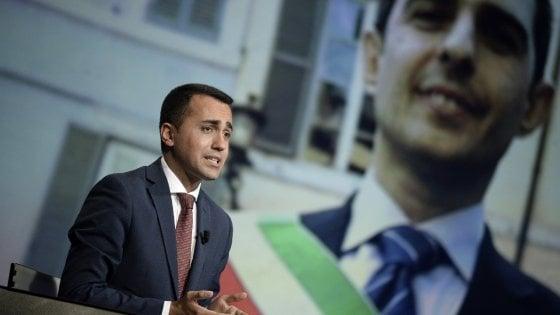 """M5s, Di Maio: """"Reintegro Pizzarotti? Non decido io"""""""