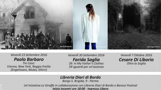 Fotografia Parma, a Diari di Bordo con Paolo Barbaro