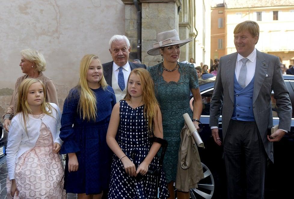 Parma: in Duomo il battesimo di un Borbone