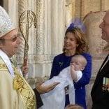 In Duomo il battesimo di un piccolo Borbone /   foto