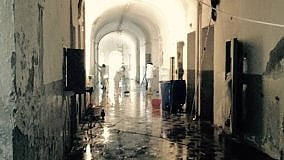 Lenz nell'ex carcere di S. Francesco