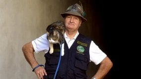 Bruno Rivoli e il gatto Mi Lù